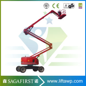 200kg Capacity One Person Trailed Towable Aerial Man Lifts pictures & photos