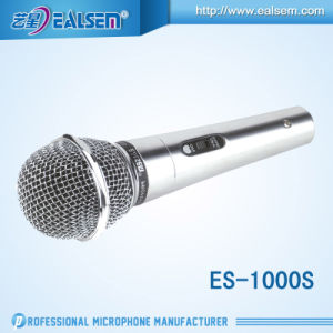 Wire Karaok Dynamic Microphone Entire Steel Net Cover Cardioid Microphone pictures & photos