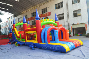 Pirate Ship Inflatable Castle Obstacle Course Inflatable Bouncer (chob236) pictures & photos