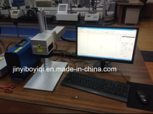 Portable Intelligent Optical Fiber Laser Marking Machine pictures & photos