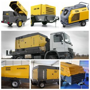 Atlas Copco Diesel Mobile Compressor Air pictures & photos
