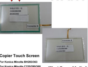 Compatible Konica Minolta Bh-283 Bh363 C220 C280 C360 Touch Screen pictures & photos