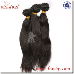 7A Grade 100% Human Virgin Malaysian Straight Weave Hair Bundles pictures & photos