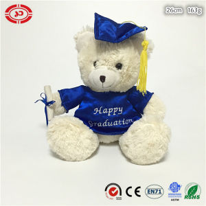 Graduation Best Friends Gift Soft Teddy Bear Sitting Plush Toy pictures & photos