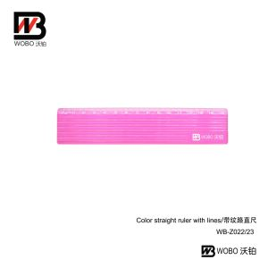 Office Stationery Straight Plastic Ruler with Lines for School Supply 2016 pictures & photos