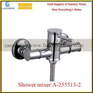 Bamboo Style Wall Mounted Chrome Shower Mixer pictures & photos