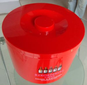 Plastic 10L Ice Bucket with Lid pictures & photos