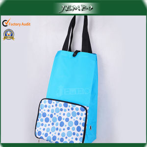 Blue Fashion Newly Reusable Folding Trolley Wheel Bags pictures & photos