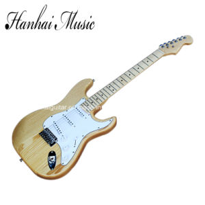 Hanhai Music / Ash Body St Style Electric Guitar pictures & photos