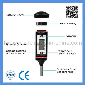 Food Thermometer Meat Thermometer LCD Instant Read Digital Thermometer pictures & photos