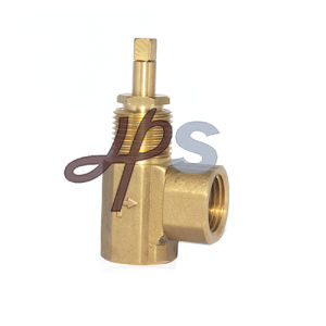 Forging Angle Type Brass Stop Valve pictures & photos