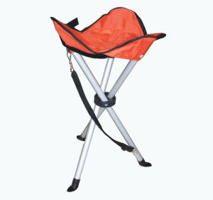 Aluminum Folding 3-Leg Stool pictures & photos