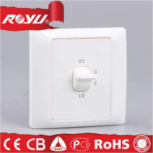 10A 1 Gang Curtain Switch for European Market pictures & photos