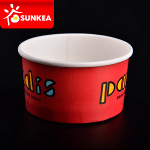 Custom Waxed Paper Ice Cream Cups pictures & photos