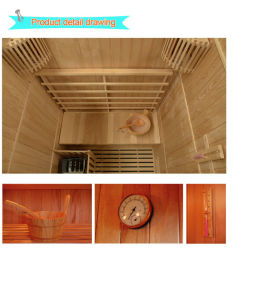 2016 Traditional Steam Sauna for 3 Person-E3 pictures & photos