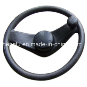 Forklift Steering Wheel in PU Material pictures & photos