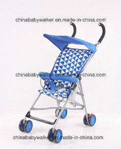 2016 Lightweight Blue Cheap Baby Stroller for Summer Use pictures & photos