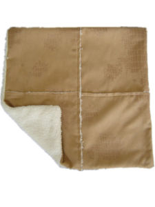 Decorative Pillow Case Sr-C170222-3 Suede & Sherpa Composite Fabric Cushion Cover and Filled Cushion pictures & photos
