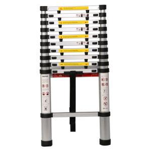 Aluminium 3.8m Telescopic Ladder Jk-1004A pictures & photos