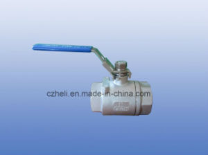 Stainless Steel 2PC Heavy Type Ball Valve pictures & photos