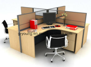 Modern Furniture Wooden Table Workstation Office Furniture pictures & photos