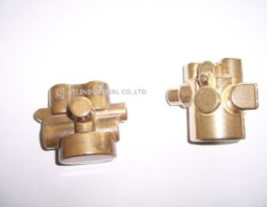 Machining Brass Forging /CNC Machining/ Machinery Part Welding Machine Part pictures & photos