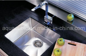 Man Made Single Hole Kitchen Sink (ACS3021A1Q) pictures & photos