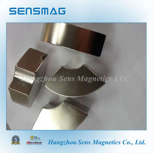 Customized Rare Earth Arc Permanent NdFeB Magnet for Chucks, Couplings pictures & photos