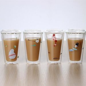 Starbuck Coffee Cup Hand Made Cup Double Wall Cup pictures & photos