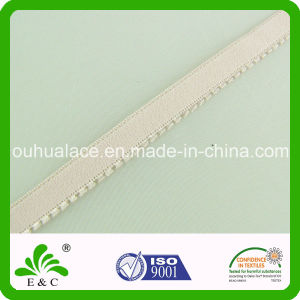 Skin Color Narrow Nylon Spandex Elastic Tape for Lingerie