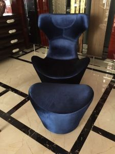 Wing Chair/Restaurant Chair/Foshan Hotel Chair/Solid Wood Frame Chair/Dining Chair (NCHC-037) pictures & photos