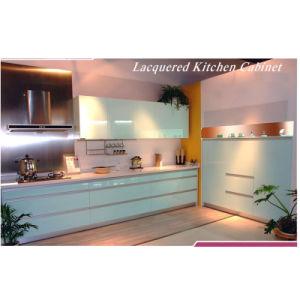 Kitchen Wooden Cabinet (P-MK005)