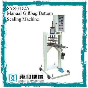 Manual Giftbag Bottom Sealing Machine pictures & photos