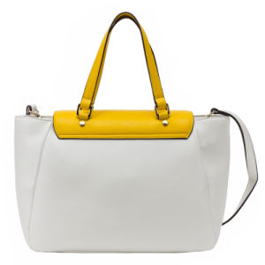 2016 Latest Designer PU Young Lady Tote Handbag (C71116) pictures & photos