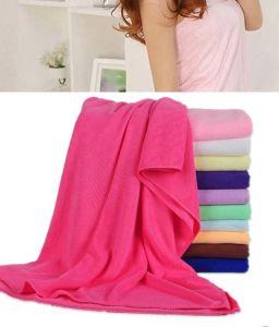 Polyesetr Long Style Women Bath Towel pictures & photos