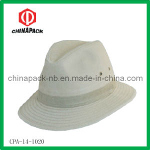 Men′s Cotton Fedora Hats (CPA-14-1020) pictures & photos