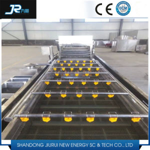 Potato Bubble High Pressure Washing Machine with Roller Brush pictures & photos