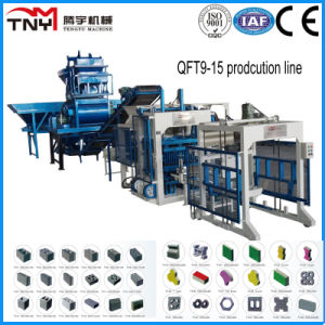 Qt9-15 Full Automatic Concrete Block Making Machine Cement Brick Making Machine for Sale pictures & photos