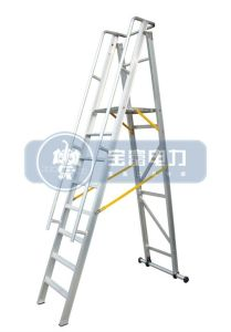 Aluminum Alloy Folding Platform and Step Ladder pictures & photos