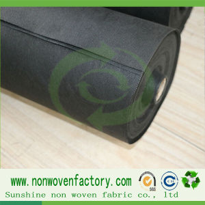 Non Woven Polypropylene Fabric Black Weed Control Fabric pictures & photos