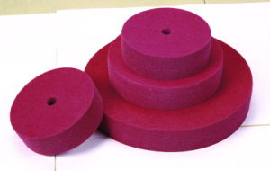 Nonwoven Unitized Wheels, Non-Woven Polishing Wheel pictures & photos