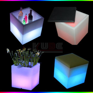 Muti Function Cube Stools Flower Pots Ice Bucket pictures & photos