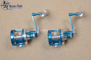 High Quality CNC Aluminum Sea Fishing Trolling Reel pictures & photos