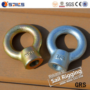 Good Quality Carbon Steel Drop Forged Eye Nut pictures & photos