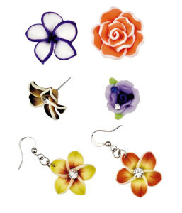 Fimo Bead & Flower