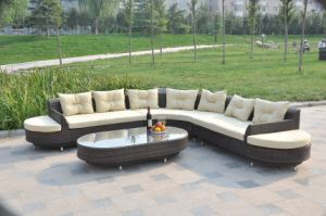 Large Outdoor Sofa 4 Pieces Sets