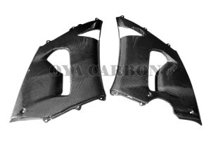 Carbon Fiber Upper Side Fairings for Kawasaki ZX-6R 05-06 (K#95) pictures & photos