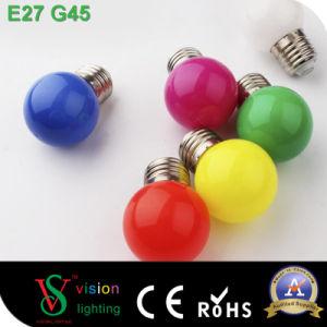 G45 E27 1W Color LED Bulb Decorative LED Bulb pictures & photos