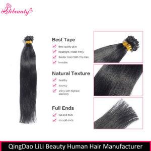 Malaysian 100% Virgin Human Hair U-Tip Hair Extensions Wholesale pictures & photos