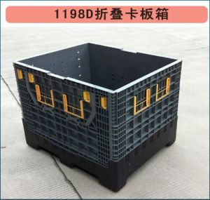 1140X980 Mesh Security Storage Durable Nestable Plastic Pallet Box
